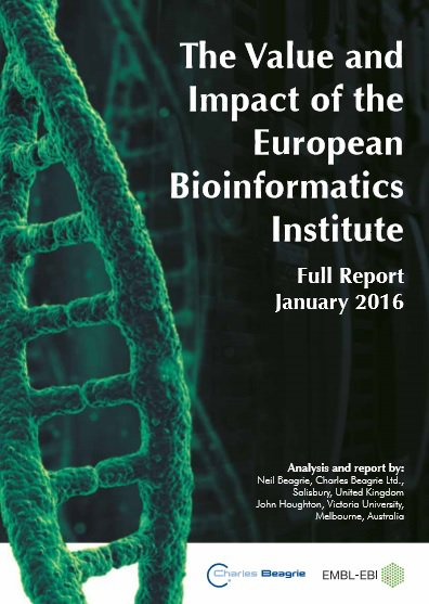 The Value and Impact of the European Bioinformatics Institute - Full report cover